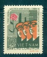 Vietnam North 1962 Heroes Of Labour Congress MUH Lot83654 - Vietnam