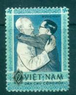 Vietnam North 1963 Ho Chi Minh, Nguyen Van Hien MUH Lot83656 - Vietnam