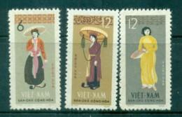 Vietnam North 1964 Costumes MUH Lot83662 - Vietnam