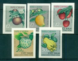 Vietnam North 1964 Fruits IMPERF MUH Lot83667 - Vietnam