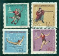 Vietnam North 1966 GANEFO Asian Games FU Lot33881 - Vietnam