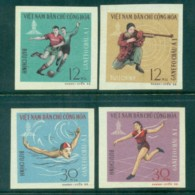 Vietnam North 1966 GANEFO Asian Games IMPERF MUH Lot83685 - Vietnam