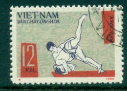 Vietnam North 1966 National Sports  Judo FU Lot33865 - Vietnam