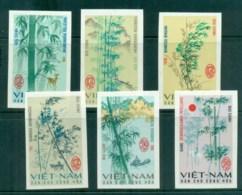 Vietnam North 1967 Bamboo IMPERF MUH Lot83687 - Vietnam