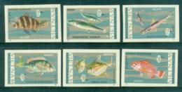 Vietnam North 1967 Fish IMPERF MUH Lot83692 - Vietnam