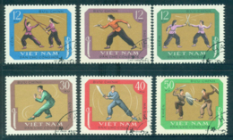 Vietnam North 1968 Martial Arts FU Lot33880 - Vietnam