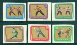 Vietnam North 1968 Martial Arts IMPERF MUH Lot83700 - Vietnam