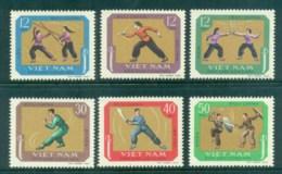 Vietnam North 1968 Martial Arts MUH Lot83699 - Vietnam