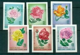 Vietnam North 1968 Roses IMPERF MUH Lot83696 - Vietnam