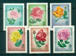 Vietnam North 1968 Roses MUH Lot83695 - Vietnam