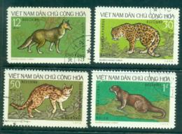 Vietnam North 1973 Wild Animals FU Lot33849 - Vietnam