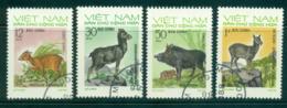 Vietnam North 1973 Wild Animals FU Lot33937 - Vietnam