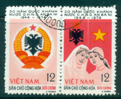 Vietnam North 1974 Albania Anniv Pr FU Lot33826 - Vietnam