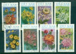 Vietnam North 1974 Chrysanthenums FU Lot33876 - Vietnam