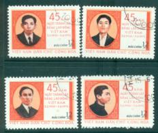 Vietnam North 1975 Labour Party (4/5) FU Lot33830 - Viêt-Nam