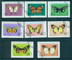 Vietnam North 1976 Butterflies FU Lot33879 - Vietnam