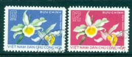 Vietnam North 1976 Lan Hoang Thao Orchid FU Lot33842 - Vietnam