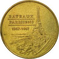 France, Jeton, 75/ Paris - Bateaux Parisiens, 2003, Monnaie De Paris, TTB - Other