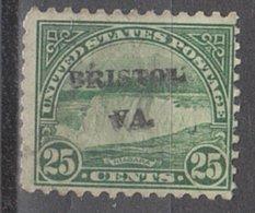 USA Precancel Vorausentwertung Preo, Locals Virginia, Bristol 699-L-2 HS - Etats-Unis