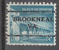 USA Precancel Vorausentwertung Preo, Locals Virginia, Brookneal L-1 TS - Vereinigte Staaten