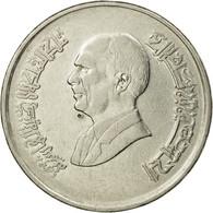 Monnaie, Jordan, Hussein, 10 Piastres, 1996, TTB, Nickel Plated Steel, KM:55 - Jordanie
