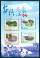 China ROC Taiwan 2003 Hot Springs MS MUH Lot83073 - Taiwán (Formosa)