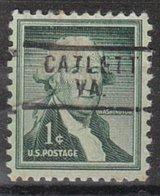 USA Precancel Vorausentwertung Preo, Locals Virginia, Catlett 729 - Vereinigte Staaten