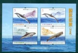 China ROC Taiwan 2006 Whales & Dolphins MS MUH Lot83075 - Taiwán (Formosa)