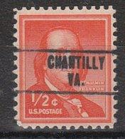 USA Precancel Vorausentwertung Preo, Locals Virginia, Chantilly 748 - Vereinigte Staaten