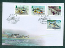 China ROC Taiwan 2010 Fishes Of Taiwan FDC Lot62126 - Taiwan (Formosa)