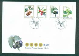 China ROC Taiwan 2012 Berries FDC Lot62125 - Taiwan (Formosa)