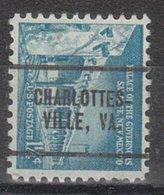 USA Precancel Vorausentwertung Preo, Locals Virginia, Charlottesville 260 - Vereinigte Staaten