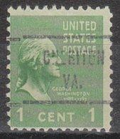 USA Precancel Vorausentwertung Preo, Locals Virginia, Cheriton 721 - Vereinigte Staaten