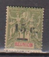 REUNION        N°  YVERT    55     NEUF SANS GOMME       ( SG   1/10 ) - Ongebruikt