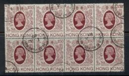 Hong Kong 1985-87 QEII Portrait $50 Blk8 FU - Hong Kong (1997-...)