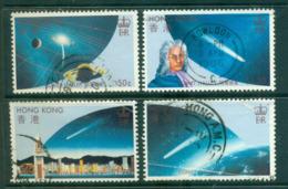 Hong Kong 1986 Halley's Comet (faults,crease) FU Lot56080 - Altri