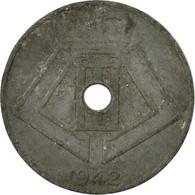 Monnaie, Belgique, 10 Centimes, 1942, TB+, Zinc, KM:126 - 02. 10 Centimes