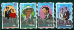 Hong Kong 1989 Charles & Diana MUH Lot18799 - Hong Kong (1997-...)