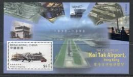 Hong Kong 1998 Kai Tak Airport Closure MS MUH - Hong Kong (1997-...)