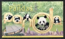 Hong Kong 1999 Giant Panda MS MUH - Hong Kong (1997-...)