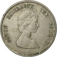 Monnaie, Etats Des Caraibes Orientales, Elizabeth II, 25 Cents, 1981, TB+ - East Caribbean States