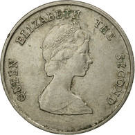 Monnaie, Etats Des Caraibes Orientales, Elizabeth II, 25 Cents, 1981, TB+ - Caribe Oriental (Estados Del)