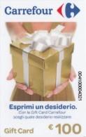 Gift Card Italy Carrefour Esprimi Un Desiderio - Gift Cards