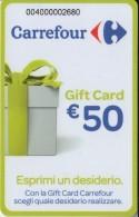 Gift Card Italy Carrefour Esprimi Un Desiderio Green - Gift Cards