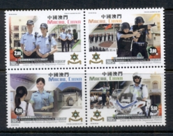 Macau 2016 Public Security, Police Force MUH - 1999-... Chinese Admnistrative Region