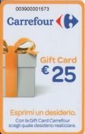 Gift Card Italy Carrefour Esprimi Un Desiderio Orange - Gift Cards