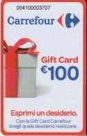 Gift Card Italy Carrefour Esprimi Un Desiderio Red - Gift Cards