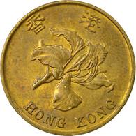 Monnaie, Hong Kong, Elizabeth II, 10 Cents, 1998, TB+, Brass Plated Steel, KM:66 - Hong Kong
