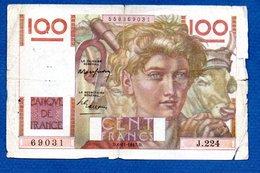 100 Francs Paysan /  6-11-47 /  B+ - 1871-1952 Anciens Francs Circulés Au XXème