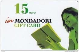 Gift Card Italy Mondadori Woman - Gift Cards